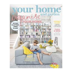 Introducing our latest issue, on sale now! #organiseyourhome #goclutterfree #outdoorlivingideas #yourhomeandgarden