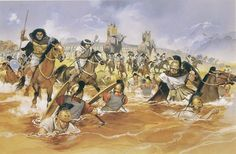 Hannibal pursuing the fleeing Romans  More @ FOSTERGINGER At Pinterest