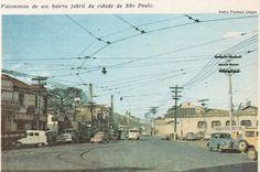 Avenida Francisco Matarazzo, antiga Avenida Água Branca, esquina com a Avenida Pompeia, continuação da Rua Carlos Vicari e Rua Clélia? c.1966?