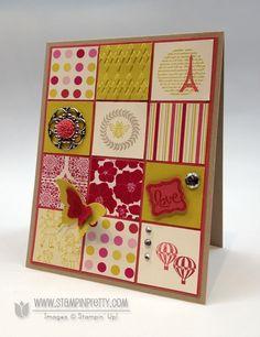 Stampin up stampinup square punch spring catalog sneak peek card ideas demonstrator