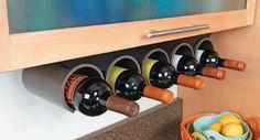 Image result for zidni stalak za vino