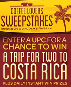 Win a Trip to Costa Rica with Land O Lakes #egghunting