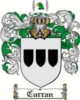 Curran Family Crest / Curran Coat of Arms