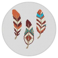 Feather Cross Stitch Pattern Wall Decor Feather Decor by Xrestyk muster Feather Cross Stitch Pattern Wall Decor Feather Decor Bohemian Bedroom Decor Boho Bedroom Decor Tribal Pattern Wall Decor Bedroom Cross Stitch Borders, Counted Cross Stitch Patterns, Cross Stitch Designs, Cross Stitching, Cross Stitch Embroidery, Bohemian Bedroom Design, Boho Bedroom Decor, Bohemian Decor, Tribal Bedroom