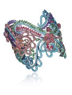 Chopard - Haute Joaillerie Bracelet | GF Luxury I www.gf-luxury.com...