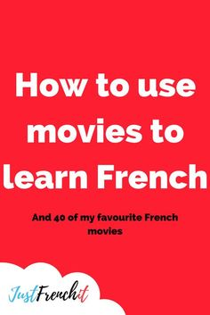 How to use movies to learn French + 40 of the best french movies How to use movies to learn French? It's a good question. Because, just putting on one of the best French movies is not going to cut it. French Language Lessons, French Language Learning, Learn A New Language, French Lessons, Foreign Language, Spanish Lessons, Spanish Language, Learning Spanish, Spanish Activities
