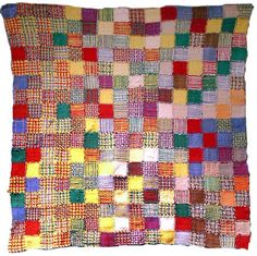 what to do with the pot holders the kids love to weave on that little plastic loom?  potholder quilt or lap cover