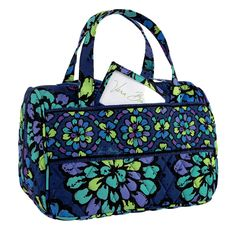 9fc7844141 Vera Bradley Lunch Date Indigo Pop Retired NWT insulated travel cosmetic  case bottle bag