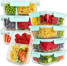 Meal Prep Containers, Food Storage Containers, Healthy Foods To Eat, Healthy Recipes, Kids Meals, Easy Meals, Breakfast Recipes, Dinner Recipes, Glass Food Storage