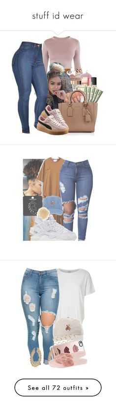 stuff id wear by pimpdaddyk ❤ liked on Polyvore featuring BLQ BASIQ, Casetify, Michael Kors, Harrods, Puma, HM, Topshop, New Look, NIKE and River Island