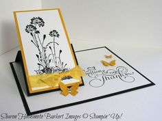 Serene Silhouettes one flap easel side