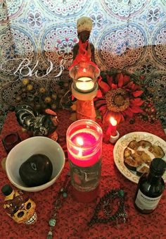 Image result for oya voodoo altar