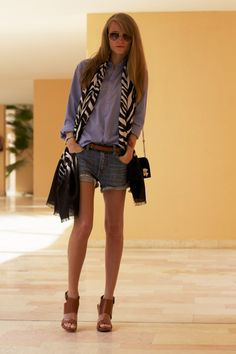 Scarf and wedges,YES