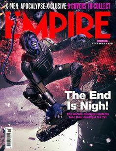 X-Men Apocalypse: Kodi Smit-McPhee as Kurt Wagner (Nightcrawler) for Empire Magazine Apocalypse Cast, Xmen Apocalypse, Man Movies, Comic Movies, Maisie Williams, Michael Fassbender, Hugh Jackman, Marvel Comic Universe, Marvel Comics