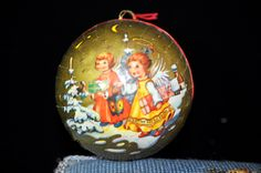 Vintage Candy Container Christmas Ball, Germany, Antique Christmas decoration, Antique # by SouthernSisAntiques on Etsy