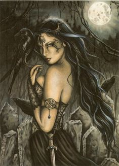 Ravens and the Morrigan: Irish Goddess of War - A conspiracy of ravens is interwoven with the Morrigan mythology like a Celtic knot. But why are these birds so linked with Ireland's darkest deity?