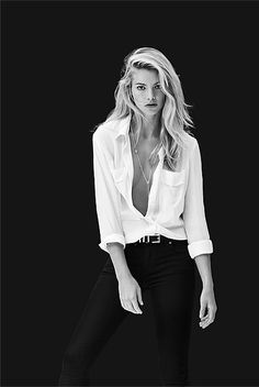 OCRF White Shirts - OCRF Button Back Shirt - my husband loves this look but where am I going to wear this??