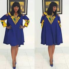 Here are some ankara gowns that will make you look awesome in every occasion. These ankara gowns are fascinating and will make you appear beautiful. Latest Ankara Short Gown, Ankara Short Gown Styles, Trendy Ankara Styles, Short Gowns, Ankara Gowns, Latest African Fashion Dresses, African Print Dresses, African Print Fashion, Africa Fashion