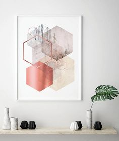Printable art downloadable map of world map world map pink and geometric art printable art downloadable prints geometric scandinavian abstract minimalist prints posters wall art art rose gold gumiabroncs Choice Image