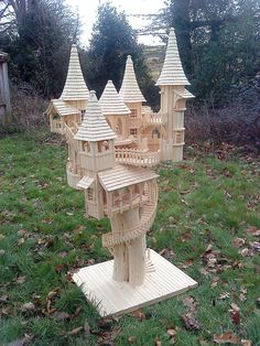 Rob Heard - Bough House Sculptures - Wooden Art Sculptures hand-carved on Exmoor