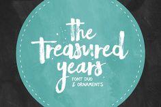 The Treasured Years Font Duo + Bonus
