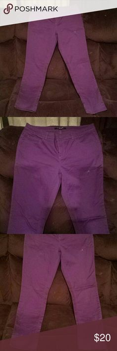 Forever 21 Purple Jeans Forever 21 Purple jeans in great condition. Size 28. Forever 21 Pants