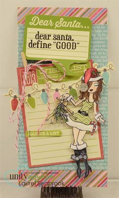 "Dear Santa, define ""good"" - Unity Stamp Co"