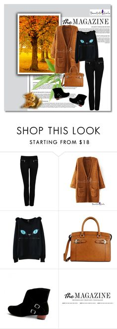 """""""BeautifulHalo I"""" by narcisaaa ❤ liked on Polyvore featuring Forever New, New Directions and bhalo"""