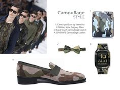 Camouflage Loafers