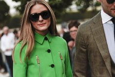 Olivia Palermo at Valentino - Paris Fashion Week SS15 by Amandine Dowle Photography
