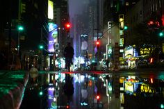 Near Times Square  By airicsson