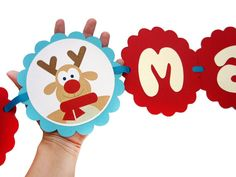 Christmas Kids Banner Merry Christmas Banner by Mariapalito,