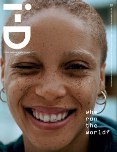 Adwoa Aboah for ID Magazine.