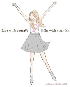 Live with Courage - Inspirational Art for Women - Art for Girls - Art for Women - Inspirational Art