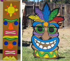 activité manuelle totem koh lanta Moana Gif, Moana Video, Totem Koh Lanta, Ko Lanta, Moana Themed Party, Wood Carving, Party Themes, Diy And Crafts, Stencils