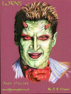 Lorne by Andrea Chapman #Buffy/Angel fan art