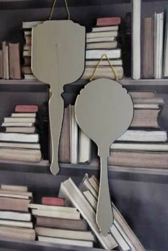 Ara Hand Wall Mirrors designed by Haidee Drew Square Fair