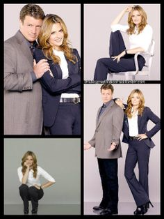 New Season Six Promo Shots - Nathan Fillion and Stana Katic as Richard Castle and Kate Beckett