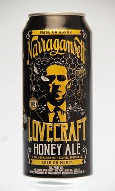 What's on Tap: Narragansett's Lovecraft Honey Ale celebrates Providence native son | Food - Reviews, food events, recipes & more | Providence Journal