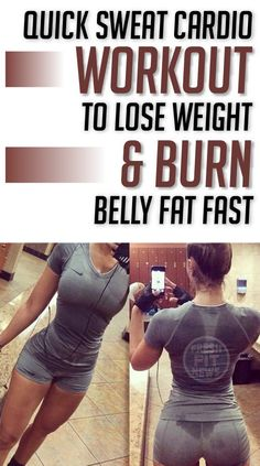 If you don't have much time to go at least three time a week to the gym or aerobic classes, then we suggest you to try burning that fat at your home. This 8 minute quick cardio workout will help you lose weight and burn your belly fat fast. However, you cannot expect huge results …