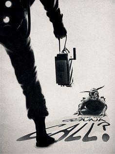 Ghostbusters poster by Carlos Angeli via http://braintopixel.com