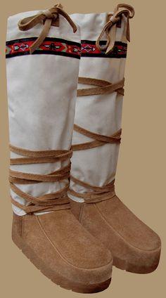 DIY Winter Boots/Mukluks - Rewilding - Feralculture Community