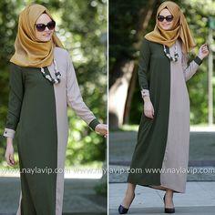 NEW KENZA - DRESS - 3994Y #hijab #naylavip #hijabi #hijabfashion #hijabstyle #hijabpress #muslimabaya #islamiccoat #scarf #fashion #turkishdress #clothing #eveningdresses #dailydresses #tunic #vest #skirt #hijabtrends