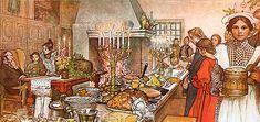 Julens och det svenska julfirandets historia | Historia | SO-rummet