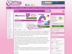 Picture of our review of Sky Bingo