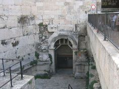 photos where jesus's trial was held | Damascus gate : The gate from which Jesus was taken out of the city to ...