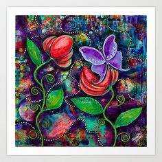 The Awakening Art Print by Pamela Cisneros - $22.88