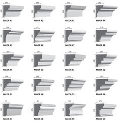 cornice profiles - Google Search