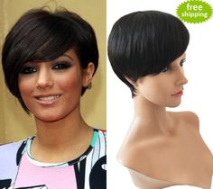 Full Lace Human Hair Wigs Brazilian Virgin Hair Lace front Wig Perruque Short Human Hair Short Bob Wigs for Black Women Online with $91.92/Piece on Qdtian's Store | DHgate.com