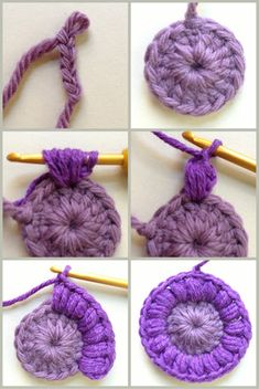 AnnieColors: Sunburst Granny Square Pattern: Best Picture For Crochet hairstyles For Your Taste You are looking for something, and it is going to tell you. Beau Crochet, Mode Crochet, Crochet Diy, Crochet Amigurumi, Crochet Gifts, Crochet Hooks, Crochet Buttons, Crochet Things, Motifs Granny Square